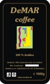 DeMAR coffee 100% Arabica 1kg